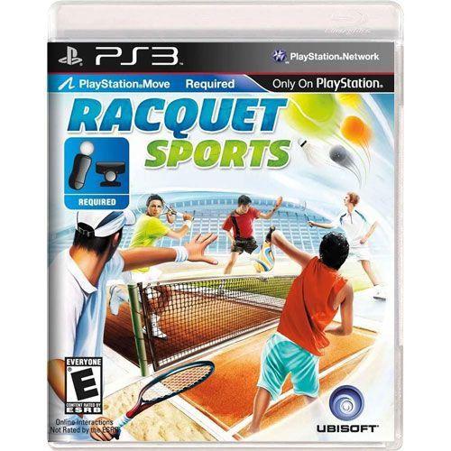 Jogo Racquet Sports - PS3 (Seminovo)