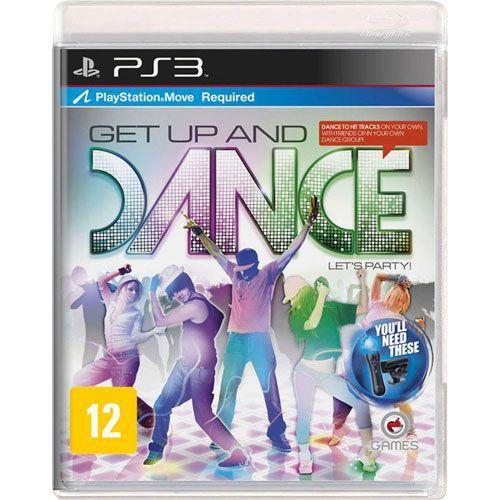 Jogo Get Up and Dance - PS3 (Seminovo)
