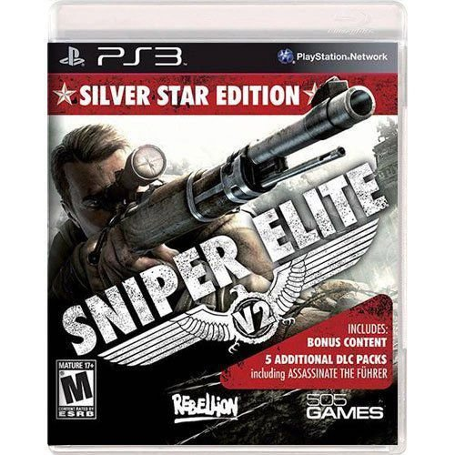 Jogo Sniper Elite V2 Silver Star Edition - PS3 (Seminovo)