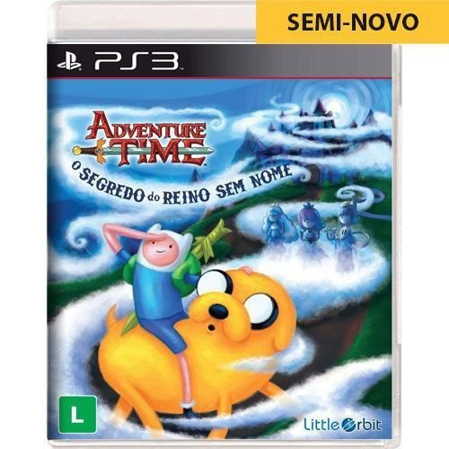 Jogo Hora da Aventura Segredo do Reino Sem Nome - PS3 (Seminovo)