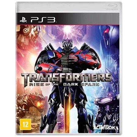 Jogo Transformers Rise of The Dark Spark - PS3 (Seminovo)