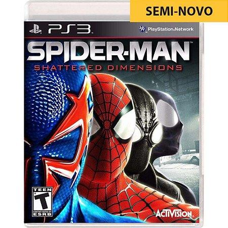 Jogo Spider Man Shattered Dimensions - PS3 (Seminovo)