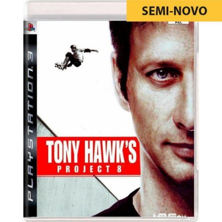 Jogo Tony Hawk Project 8 - PS3 (Seminovo)