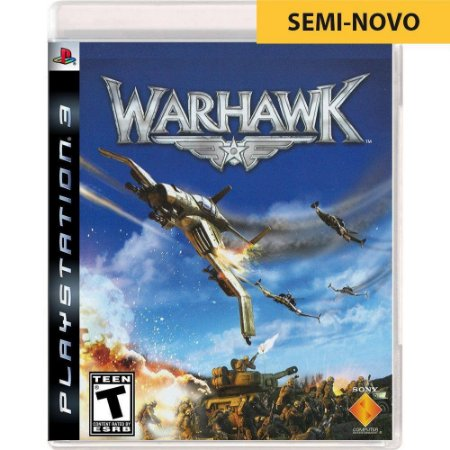 Jogo Warhawk - PS3 (Seminovo)