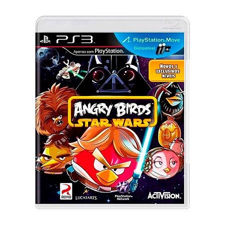 Jogo Angry Birds Star Wars - PS3 (Seminovo)