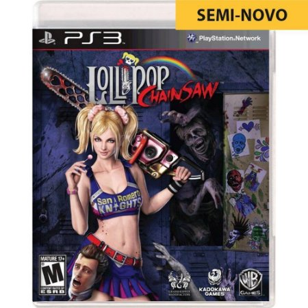 Jogo Lollipop Chainsaw - PS3 (Seminovo)