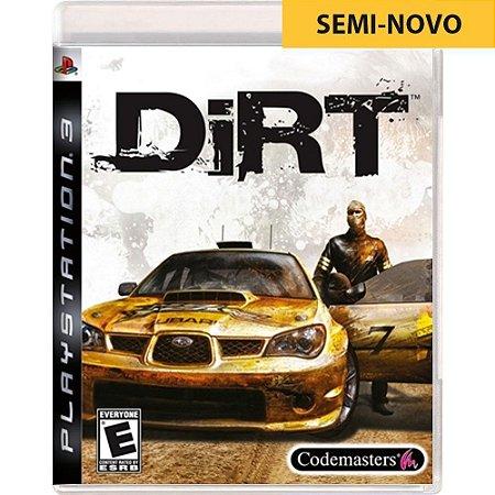 Jogo Dirt - PS3 (Seminovo)