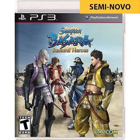 Jogo Sengoku Basara Samurai Heroes - PS3 (Seminovo)