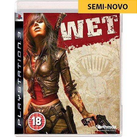 Jogo Wet - PS3 (Seminovo)