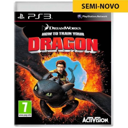 Jogo How to Train Your Dragon The Video Game - PS3 (Seminovo)