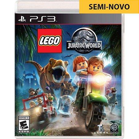 Jogo LEGO Jurassic World - PS3 (Seminovo)