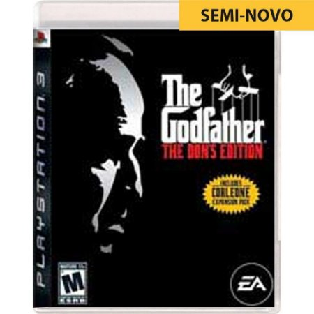 Jogo The Godfather The Dons Edition - PS3 (Seminovo)