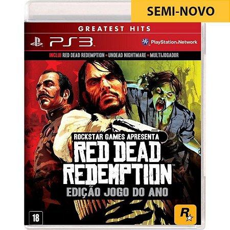 Jogo Red Dead Redemption Edição Jogo do Ano - PS3 (Seminovo)