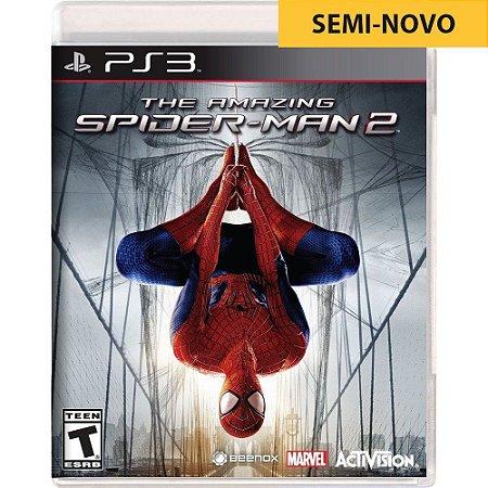 Jogo The Amazing Spider Man 2 - PS3 (Seminovo)