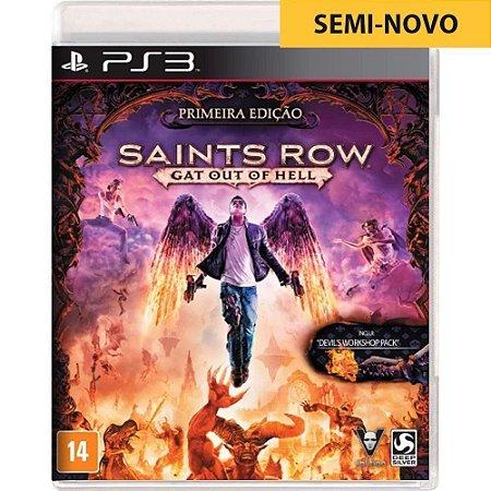Jogo Saints Row Gat Out of Hell - PS3 (Seminovo)