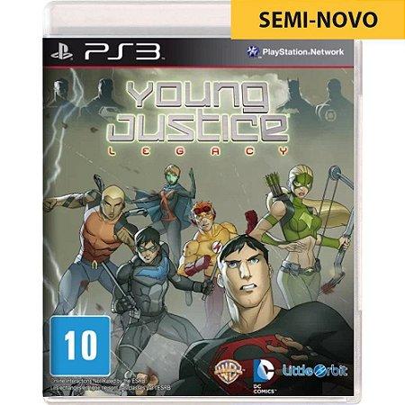 Jogo Young Justice Legacy - PS3 (Seminovo)