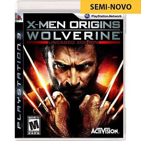 Jogo X-Men Origins Wolverine - PS3 (Seminovo)