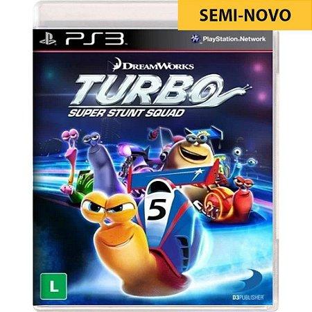 Jogo Turbo Super Stunt Squad - PS3 (Seminovo)