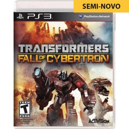 Jogo Transformers Fall of Cybertron - PS3 (Seminovo)