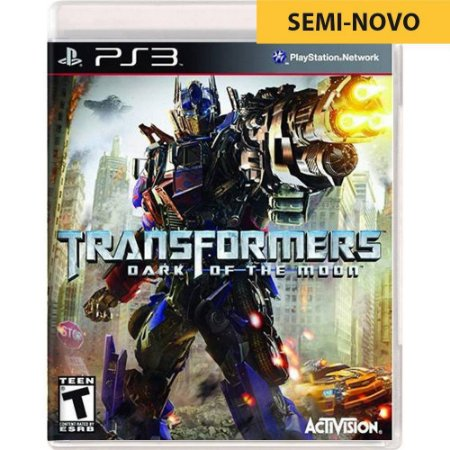 Jogo Transformers Dark of The Moon - PS3 (Seminovo)