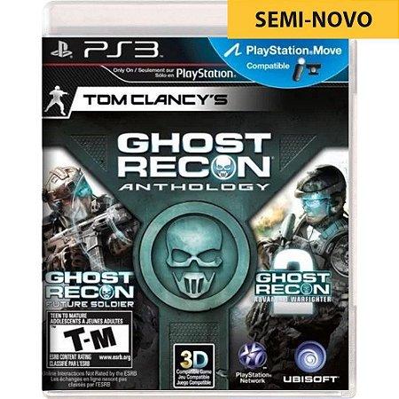 Jogo Tom Clancys Ghost Recon Anthology - PS3 (Seminovo)