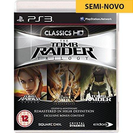 Jogo The Tomb Raider Trilogy - PS3 (Seminovo)