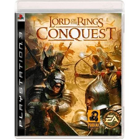 Jogo The Lord of The Rings Conquest - PS3 (Seminovo)