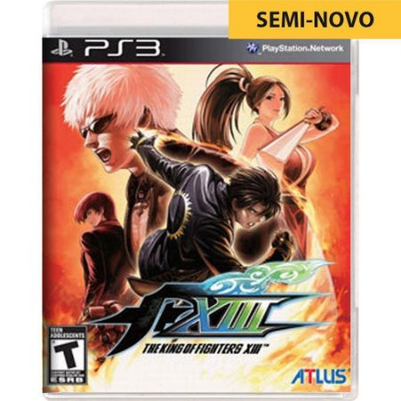 Jogo The King of Fighters XIII - PS3 (Seminovo)