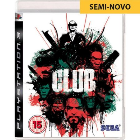 Jogo The Club - PS3 (Seminovo)