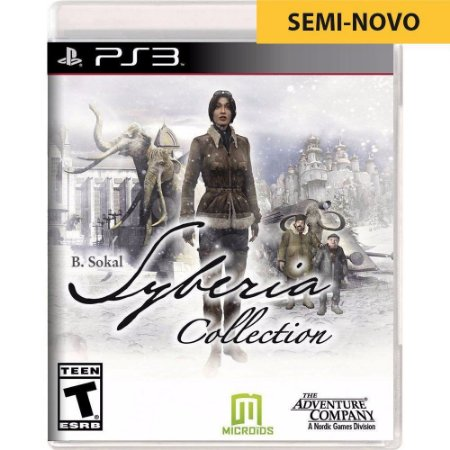 Jogo Syberia Complete Collection - PS3