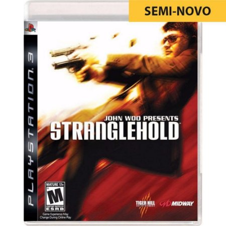 Jogo Stranglehold John Woo Presents - PS3 (Seminovo)