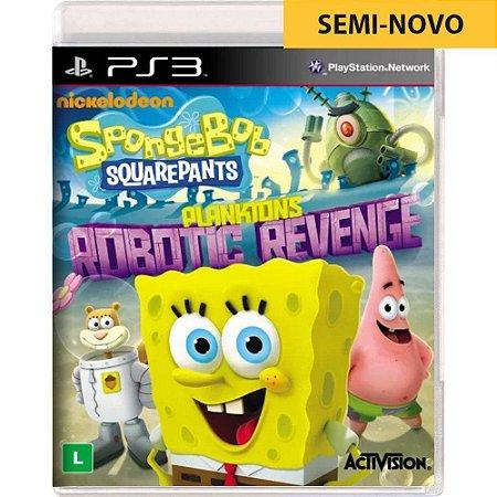 Jogo SpongeBob SquarePants Planktons Robotic Revenge - PS3 (Seminovo)