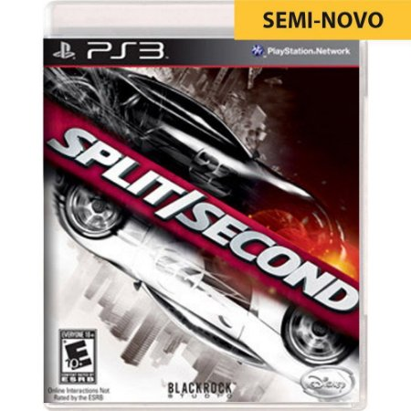 Jogo Split Second - PS3 (Seminovo)