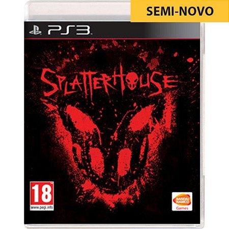 Jogo Splatterhouse - PS3 (Seminovo)