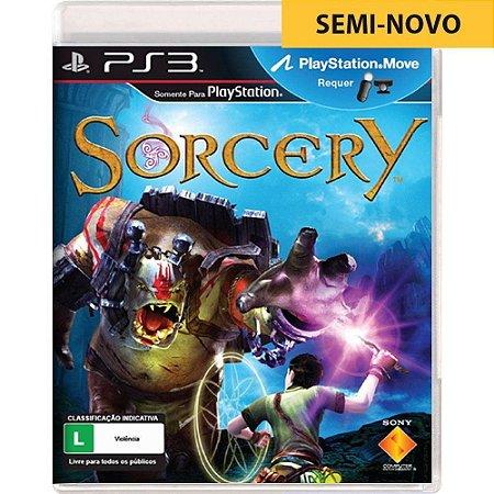 Jogo Sorcery - PS3 (Seminovo)