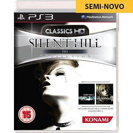 Jogo Silent Hill HD Collection - PS3 (Seminovo)