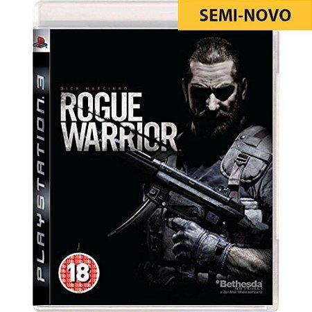Jogo Rogue Warrior - PS3 (Seminovo)