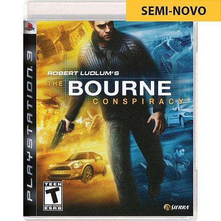 Jogo Robert Ludlums The Bourne Conspiracy - PS3 (Seminovo)