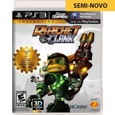 Jogo Ratchet & Clank Collection - PS3 (Seminovo)