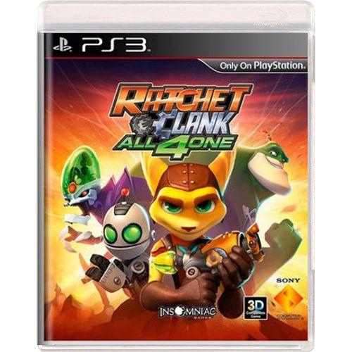 Jogo Ratchet & Clank All 4 One - PS3 (Seminovo)