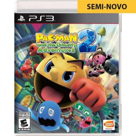 Jogo Pac-Man and The Ghostly Adventures - PS3 (Seminovo)
