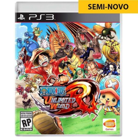 Jogo One Piece Unlimited World Red - PS3 (Seminovo)