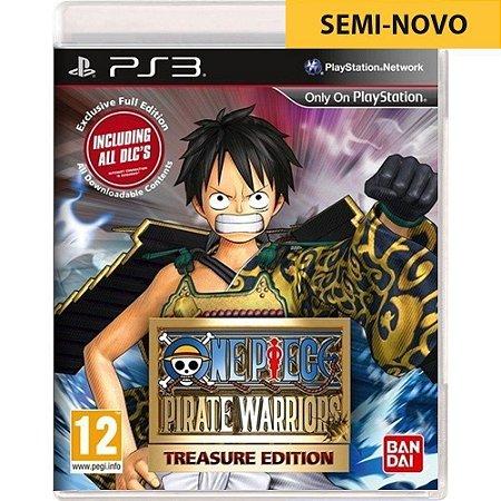 Jogo One Piece Pirate Warriors Treasure Edition - PS3 (Seminovo)
