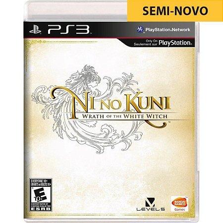 Jogo Ni No Kuni Wrath of the White Witch - PS3 (Seminovo)