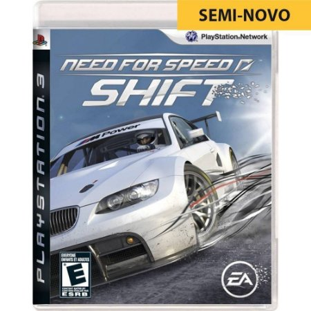 Jogo Need For Speed Shift - PS3 (Seminovo)