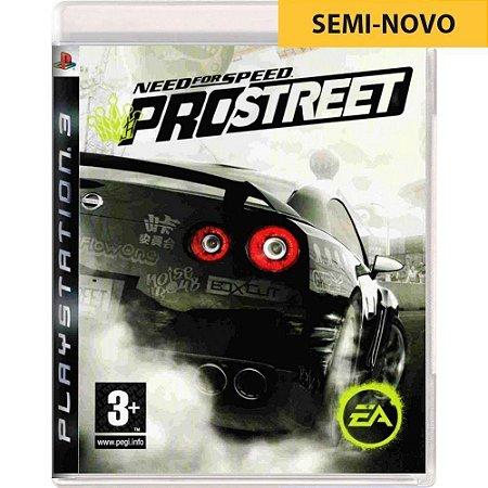 Jogo Need For Speed Pro Street - PS3 (Seminovo)