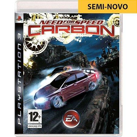 Jogo Need For Speed Carbon - PS3 (Seminovo)
