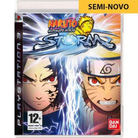 Jogo Naruto Ultimate Ninja Storm - PS3 (Seminovo)