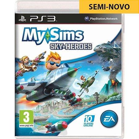 Jogo My Sims Sky Heroes - PS3 (Seminovo)
