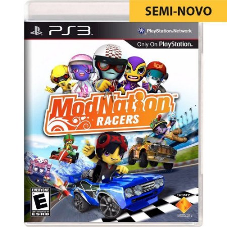 Jogo ModNation Racers - PS3 (Seminovo)